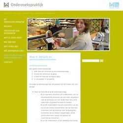 Stap 5: Aanpak en onderzoeksmethoden - Onderzoekspraktijk