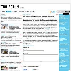 trajectum: VU onderzoekt vermeend plagiaat Nijkamp