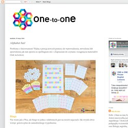 one-to-one: Alphabet fun!