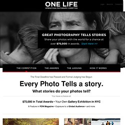 One Life - An International Photography Competition -