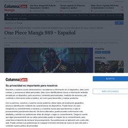 One Piece Manga 989 - Español