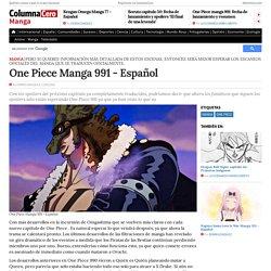 One Piece Manga 991 - Español