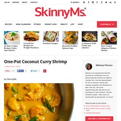One-Pot Coconut Curry Shrimp