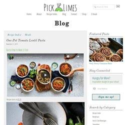 One-Pot Tomato Lentil Pasta