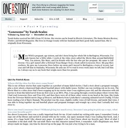 One Teen Story - Stories