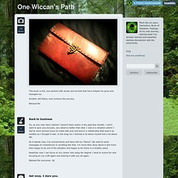 One Wiccan's Path