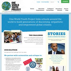 One World Youth Project