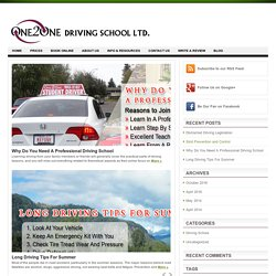 One2One Driving School LTD.