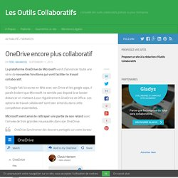 OneDrive encore plus collaboratif