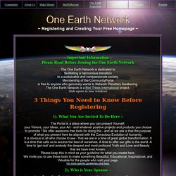 www.oneearth.ws/join.php
