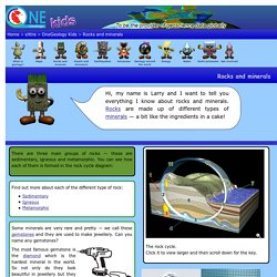 eXtra - OneGeology Kids - Rocks and minerals
