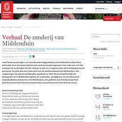 Oneindig Noord Holland / De zanderij van Middenduin