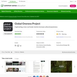 Global Oneness Project Review for Teachers