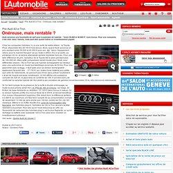 Prix Audi A3 e-Tron - Onéreuse, mais rentable ?