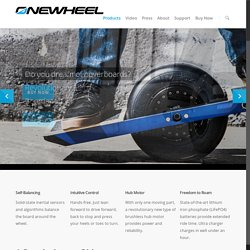 Onewheel | The Self-Balancing Electric Skateboard