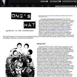 Ongs Hat: Gateway to the Dimensions!