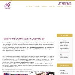 Onglerie sur Avignon, vernis semi permanent, pose de gel