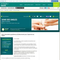 Soins des ongles : Ongle et nutrition