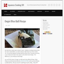 Onigiri (Rice Ball) Recipe