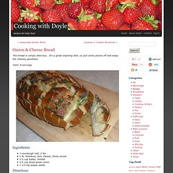 Onion & Cheese Bread - StumbleUpon