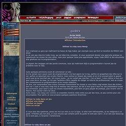 [RPG-MAKER.FR] Oniromancie: tout l'univers de RPG Maker en français -