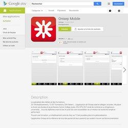 Onisep Mobile - pour tout savoir sur l'orientation