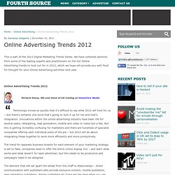 Online Advertising Trends 2012 - Fourth Source