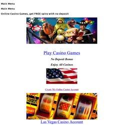 Play Real Money Slots Online, American Casino Bonus - players from USA