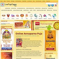 Online Annapurna Puja