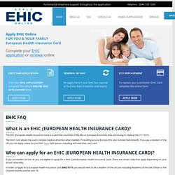 Right Place for Apply Ehic Card in UK