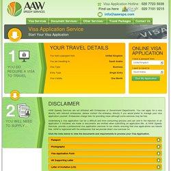 Saudi Arabia Visa application