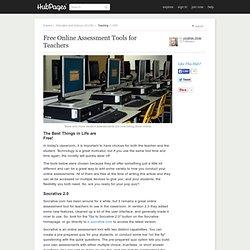 Free Online Assessment Tools for Teachers