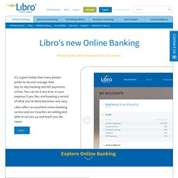 Libro Credit Union - digital, mobile, modern