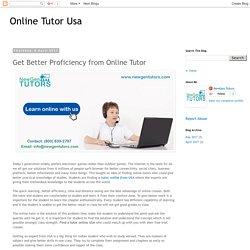 Best Online Tutor USA