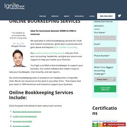 Online Bookkeeping and Virtual Bookkeeping