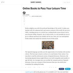 Online Books to Pass Your Leisure Time