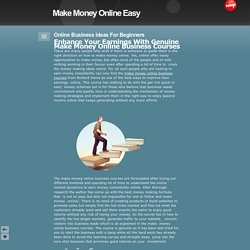 Simple Way to Make Money Online Easy