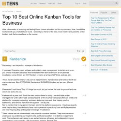 Top 10 Best Online Kanban Tools for Business