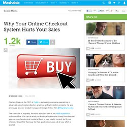 Why Your Online Checkout System Hurts Your Sales