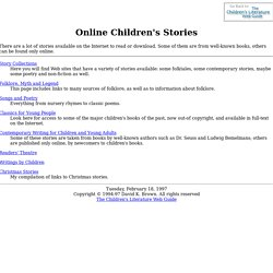 Online Children's Stories