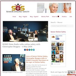KOMO News Radio talks online safety with Christopher Burgess