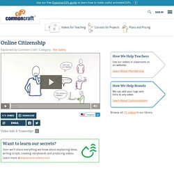 Online Citizenship Explained by Common Craft