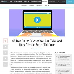 45 Free Online Classes You Can Take to Improve Your Career