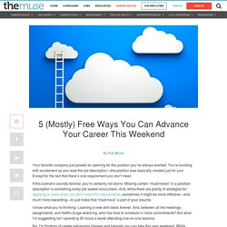 Free Online Classes and Tutorials to Boost Your Resume