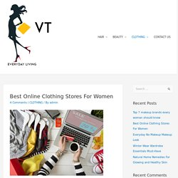 Best Online Clothing Stores For Women -