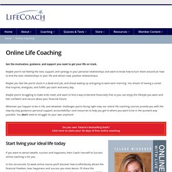 Online Coaching - LifeCoach.com