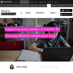 Using Online Collaboration Tools