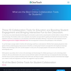 10 of the Best Online Collaboration Tools for Students