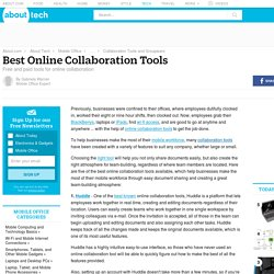 Best Free and Paid Online Collaboration Tools