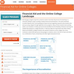 Online Colleges that Accept FAFSA